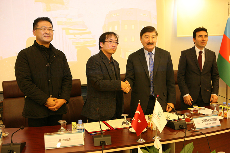 Mutual exchange cooperation MOU with TURKSOY